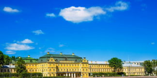 Меншиковский дворец в Санкт-Петербурге.