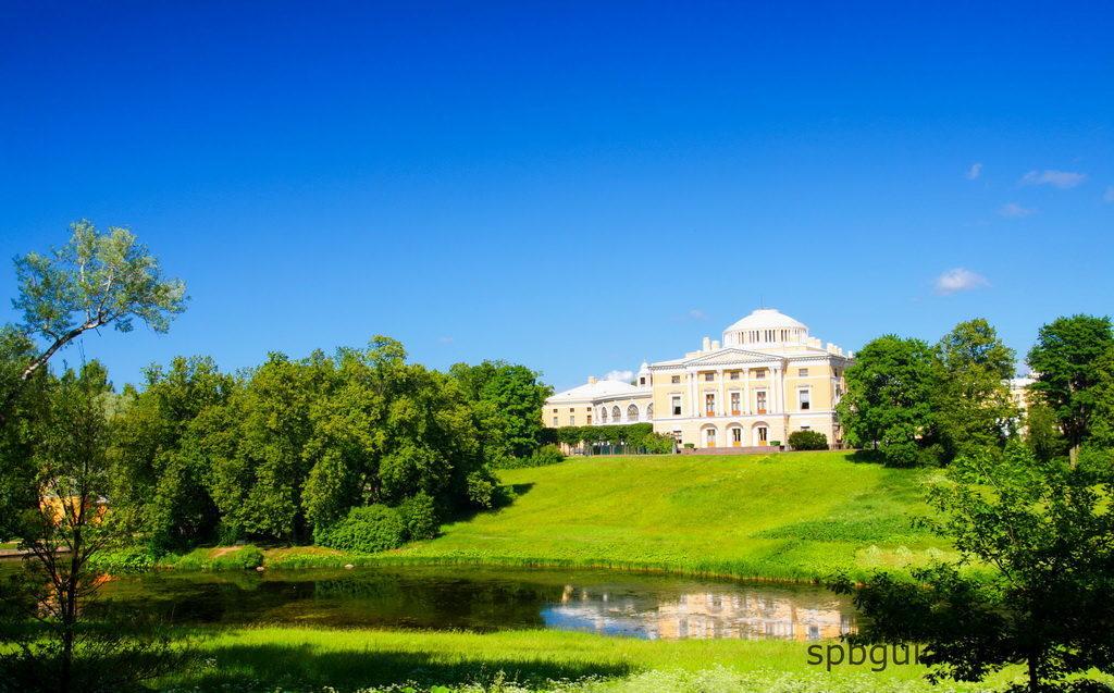 Павловский дворец и парк.