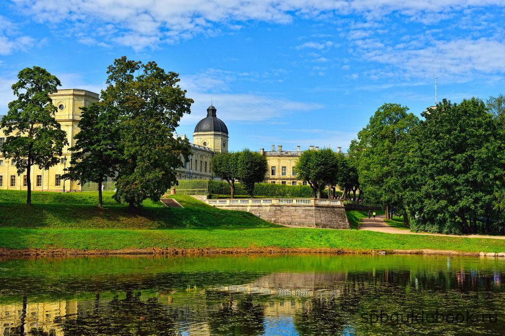 Большой Гатчинский дворец и парк.