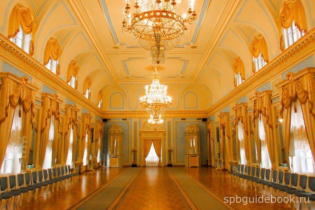 Голубой зал. Константиновский дворец.