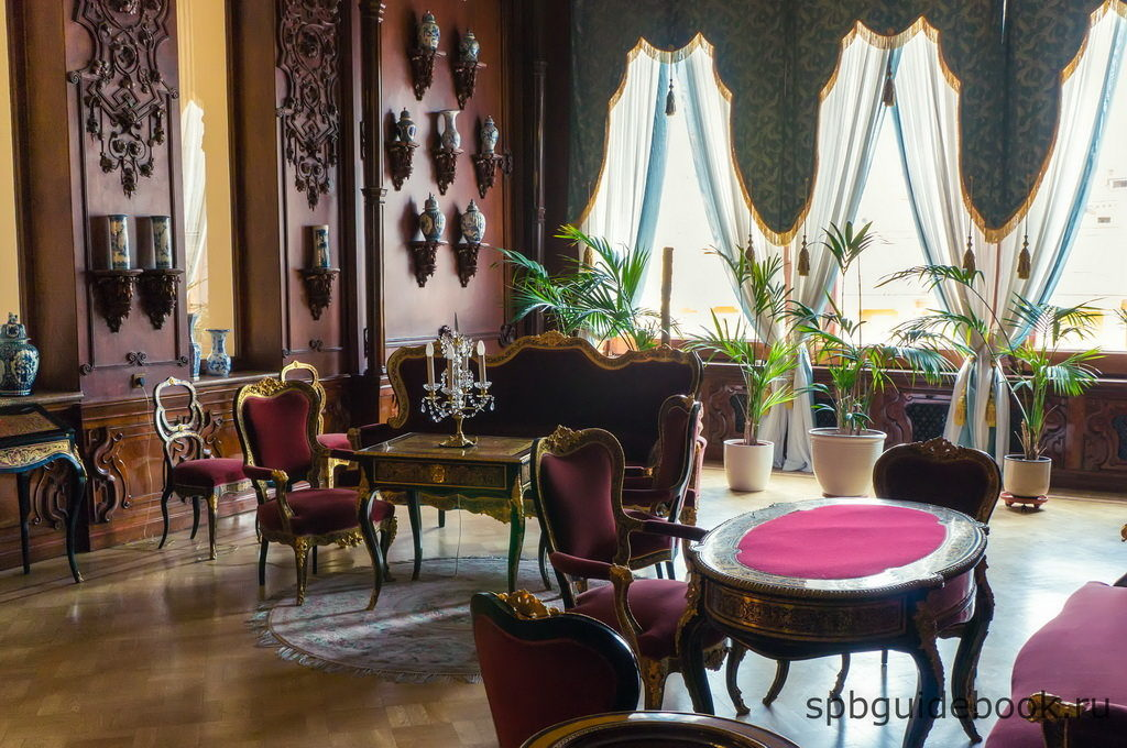Гобеленовая гостиная. Юсуповский дворец на Мойке.