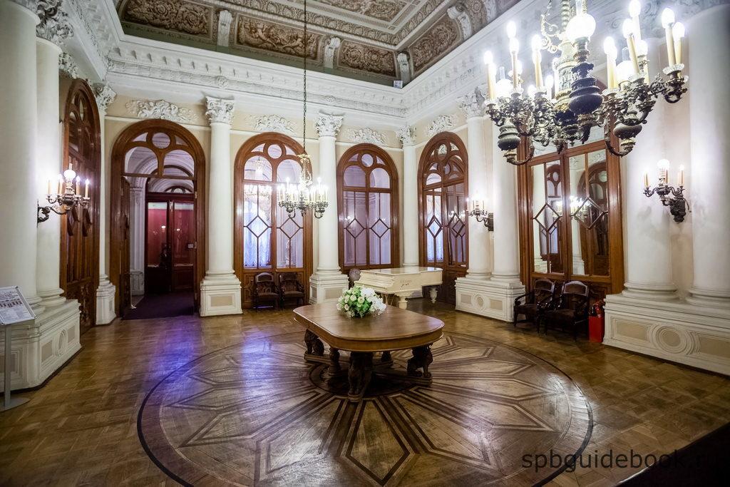 Интерьеры Юсуповского дворца на Мойке.