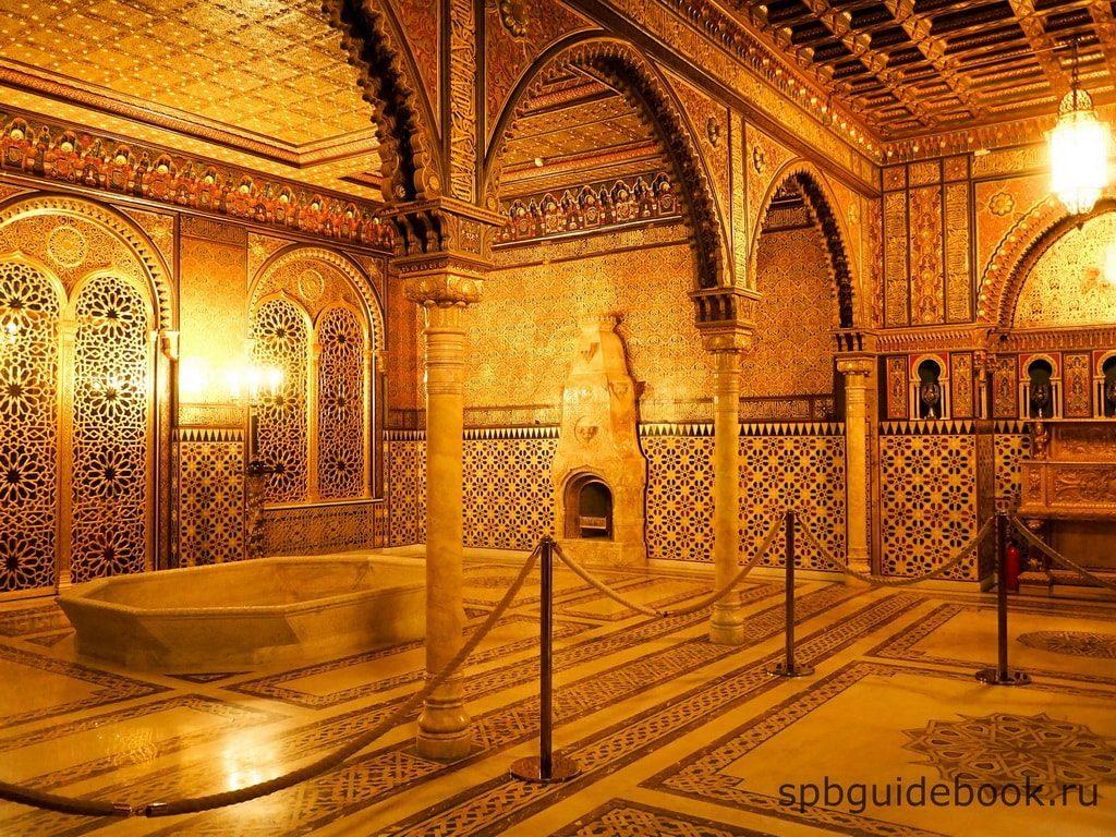 Мавританская гостиная. Юсуповский дворец на Мойке.