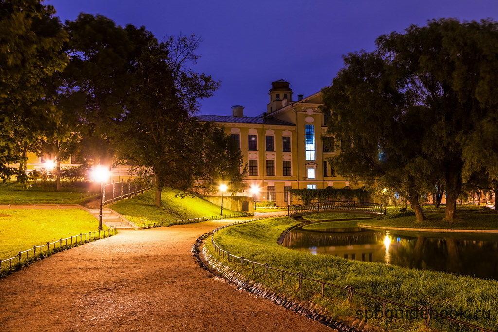 Юсуповский дворец и сад на Фонтанке.