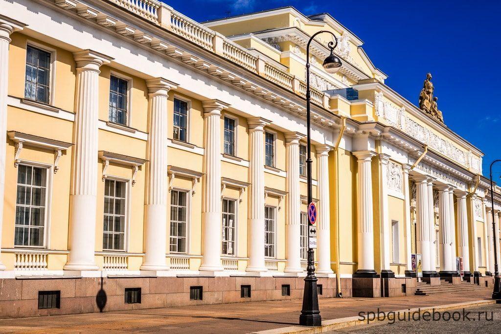 Фасад здания Этнографического музея.