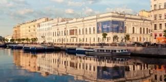 Здание музея Фаберже.
