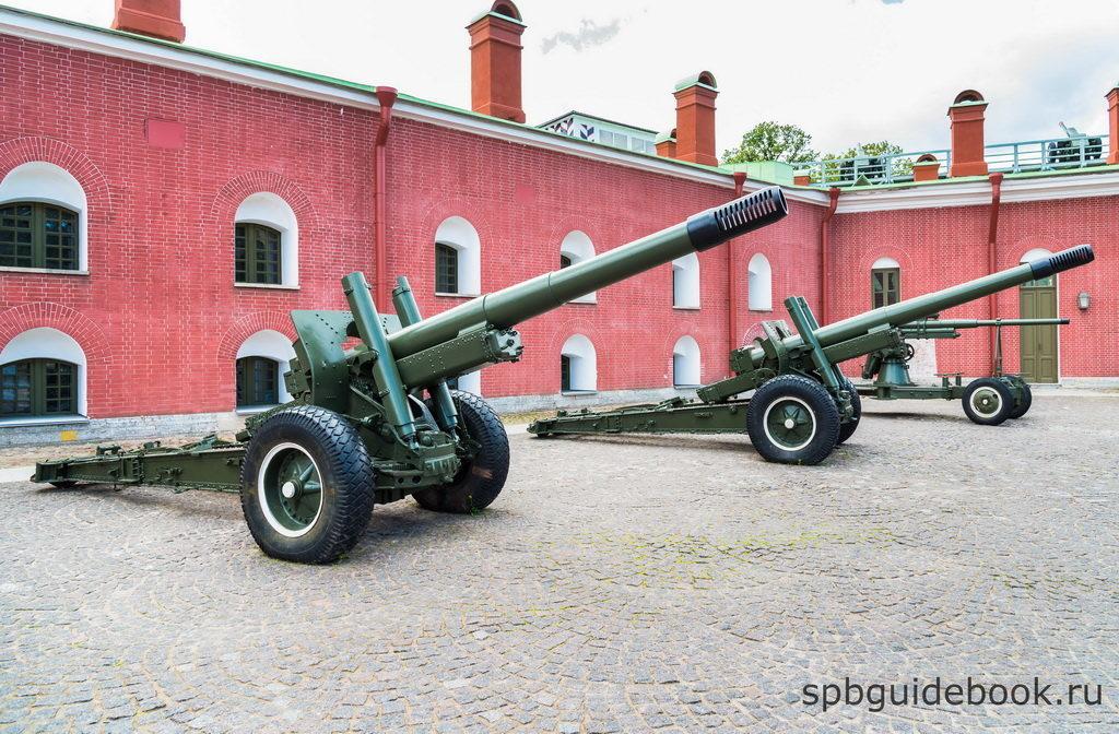 Экспозиция Музея артиллерии.