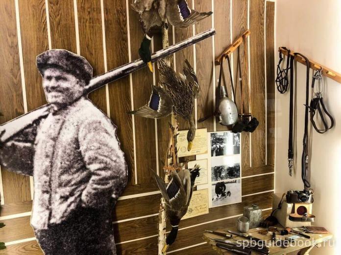 Фото экспозиции музея Кирова в Санкт-Петербурге.
